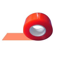 RED 2.5 - Biadesivo Rosso Rigido Trasparente