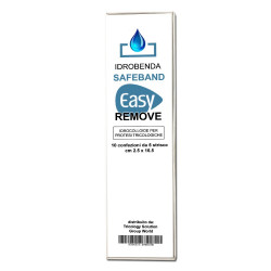 IDROBENDA SAFEBAND EASY REMOVE Conf. 5 strisce - Idrocolloide per Impianti