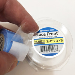 Biadesivo blu - Adesivo per protesi in lace