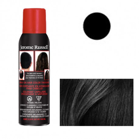 Hair Spray Addensante 100g - Spray Antidiradamento - Nero