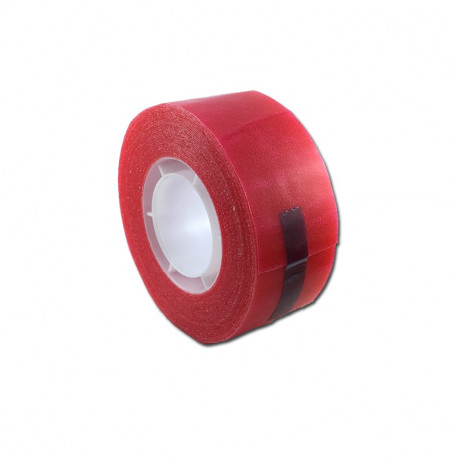 RED II cm 2,5 x 5m - Biadesivo Rosso Morbido Opaco