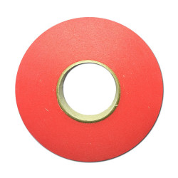 RED II cm 2,5 x 50m - Biadesivo Rosso Morbido Opaco