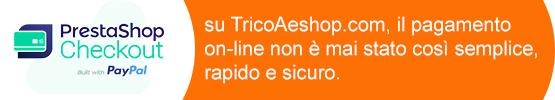 su TricoAeshop.com, il pagamento on-line non è mai stato così