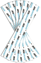 Idrobenda BIOCLAIM JESBAND confezione 5 strisce